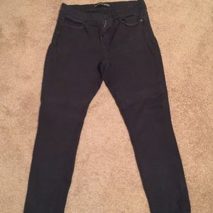 Express Mid-Rise Legging Jeans